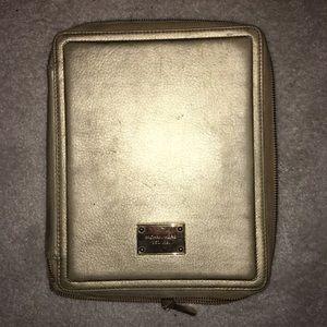 Gold Michael Kors iPad Case
